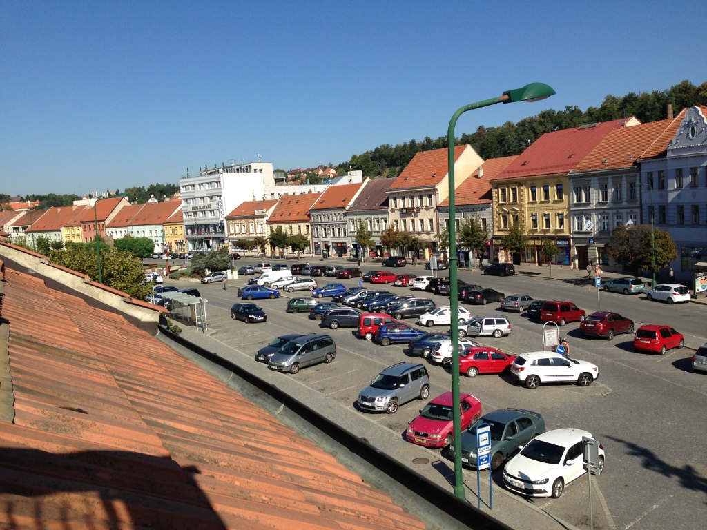 Trebic - view from our window