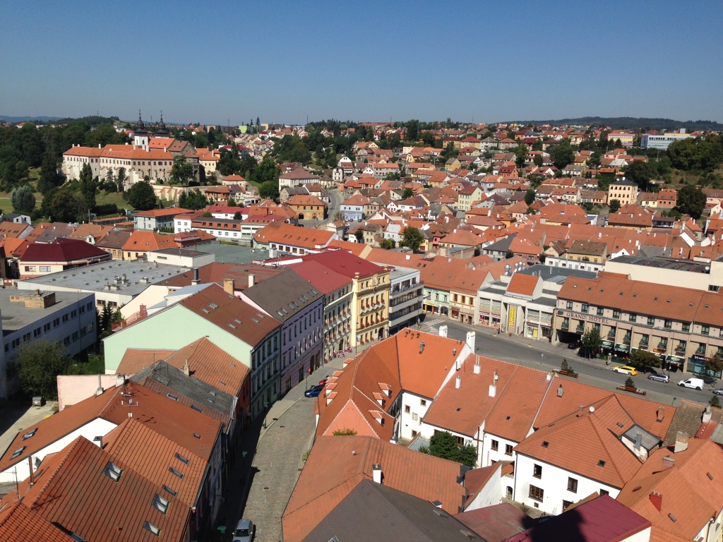 Trebic - View from Town Tower 01