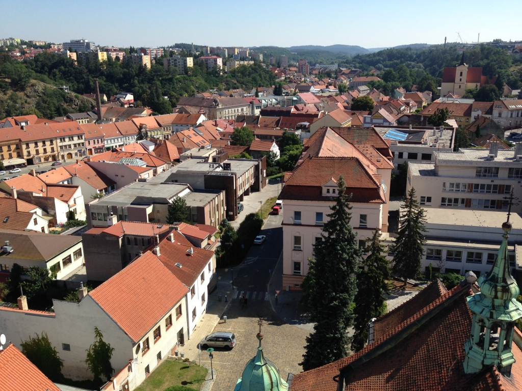 Trebic - View from Town Tower 06