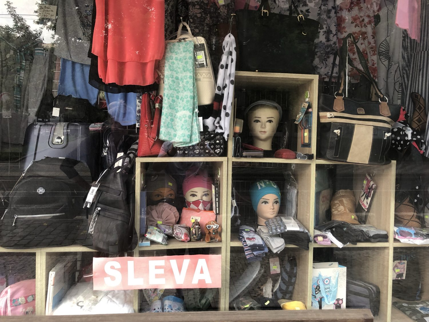 Prague Store Fronts – why are so many old and/or weird?